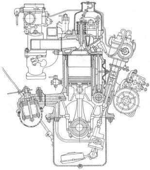 двигателя ЗМЗ-21