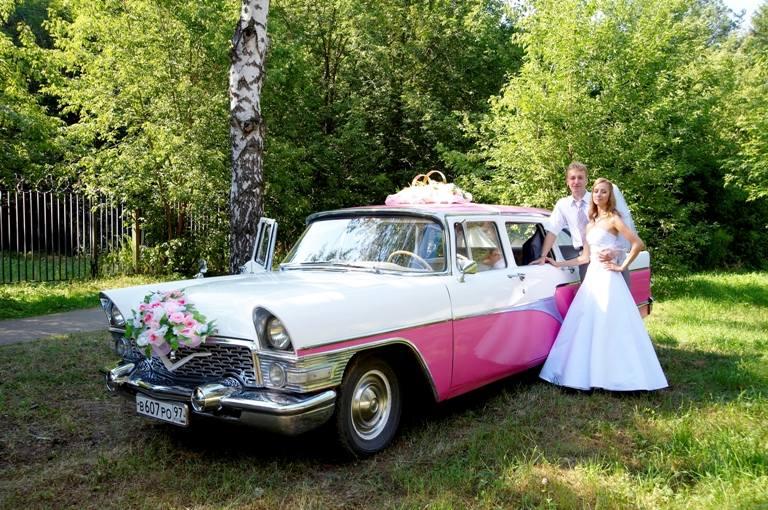 Галерея: газ 13 на свадьбу